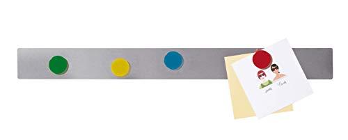 Franken GmbH ST1450 Magnethaftleiste (selbstklebend, 5 x 50 cm) 10 Stück edelstahl