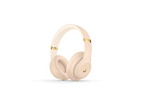 Beats Studio3 Wireless Headphones – The Beats Skyline Collection - Desert Sand (Renewed)