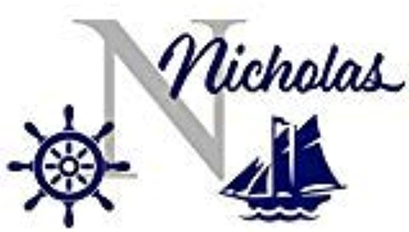 Custom Name Wall Decal Sticker Monogram Vinyl Ship Nautical Baby Room Nursery LARGE 17 X 28 Inches