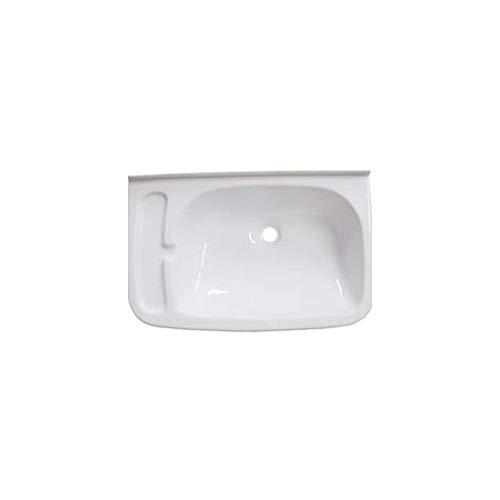 Brunner 300/527 - Lavabo para autocaravanas (465x295mm), Color Blanco