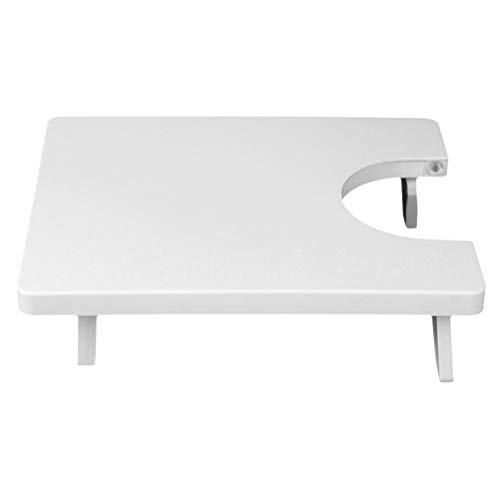 Exceart Naaimachine Verlenging Tafel Board Huishoudelijke Accessoires Desktop Naaimachine Tafel Accessoires (Wit)