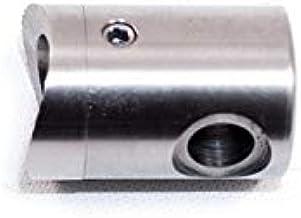 Kabelinleg van roestvrij staal afwerking AISI 304 geborsteld - voor binnen/rechts/links