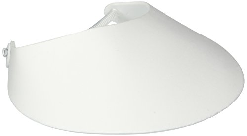 Darice Foamies Foam Visor with Vinyl Coil: White, 8.75 x 3.75 Inches, 1 Piece