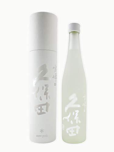 爽醸 久保田 雪峰 純米大吟醸 500ml
