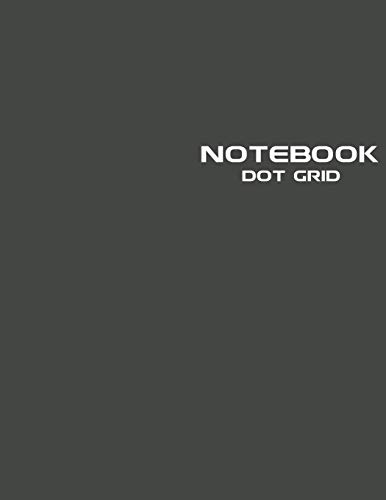 Dot Grid Notebook: Stylish Broadway Black Notebook Journal, 120 Dotted Pages 8.5 x 11 inches Large Journal Paper | Softcover ( Younity Style -2021 ... Journal Sketchbook for Sketching, Drawing, a