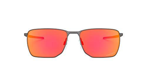 Oakley Unisex OO4142-0258 Sonnenbrille, Mehrfarbig, 0