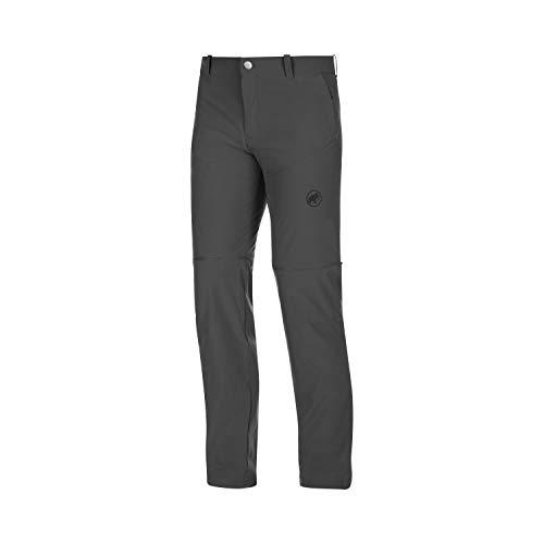 Mammut Herren Wander-Hose mit Reissverschluss Runbold Zip Off, grau, EU 48