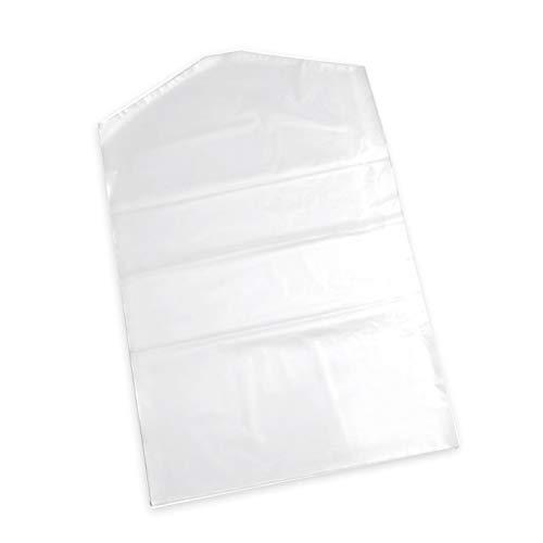 Elitemill Ropa Suit Prendas a Prueba de Polvo, 10 Piezas / Juego Suit Tapa Transparente Plástico Bolsa Almacenaje para Abrigos , Suit, Suéter,Camisa,Etc. 90 x 60cm (L con )
