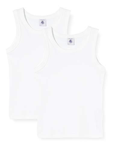Petit Bateau Jungen 5332600 Top, Weiß (Variante 1 Zga), 5 Jahre