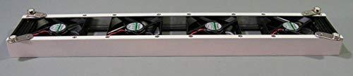 Heizkörperverstärker Fire Booster Heizkörper-Ventilator mit 4 ECO-Lüftern Heizkörper Verstärker