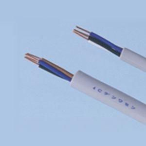 富士電線 2Pカッド線 PVC屋内電話線 0.5mm 200m巻 2Pカッドセン0.5mm×200m