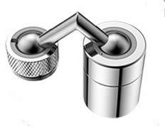 Watkings Filtro de agua para grifo de cocina, aireador, lavabo, cabezal giratorio, boquilla de filtro giratoria, grifo para el hogar o el cuarto de baño