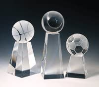 Baseball Special sale Under blast sales item Tower Crystal Trophy Small -