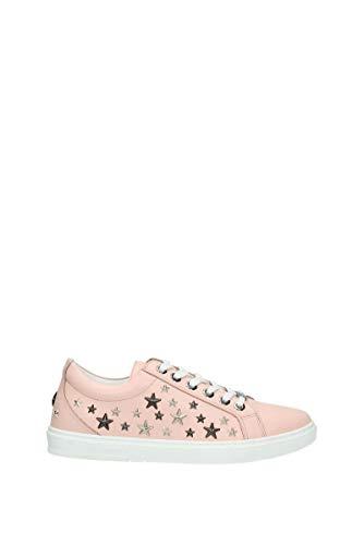 JIMMY CHOO Sneakers Cash Herren - Leder (CASHLTRSAKURA) 39.5 EU
