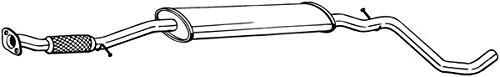 Mittelschalldämpfer (1220-18901) Dämpfer Abgasanlage Auspufftopf