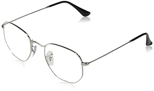 Ray-Ban 0RB3548-003/BL-48, Gafas Hombre, Plata, Talla única