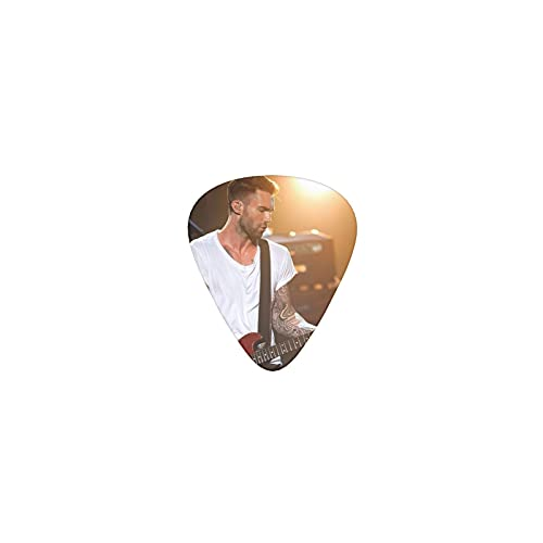 Adam Levine Guitar Picks 12 Pack 3 Different Thickness Guitar Pick Includes 0.46mm 0.71mm 0.96mm Electric Guitar Acoustic Guitar Bass Personalized Picks Rock Band Guitar Picks