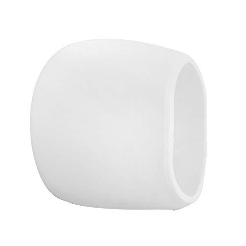 Adaskala Pack de 1 Paquete de Silicona para Arlo Cameras Funda Protectora Resistente a la Intemperie, Blanco