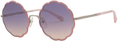 Chloé CE3103S - Gafas de Sol de Metal Dorado/Coral, Unisex, para Adulto, Multicolor, estándar