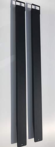 Gabelverlängerung 220 cm / 2,20 m lang für Stapler mit Magnethalterung