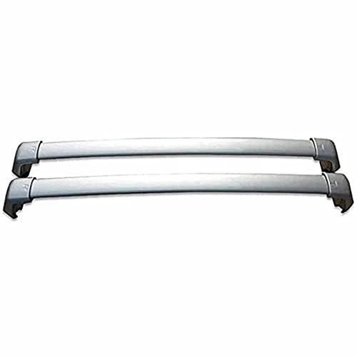 2 Pcs Aluminio Coche Bacas Travesaño para Honda CRV CR-V 2012 2013 2014 2015 2016, Techo Barras Transversales Soporte Transporte Carga Portaequipajes, Piezas Modificadas Accesorios