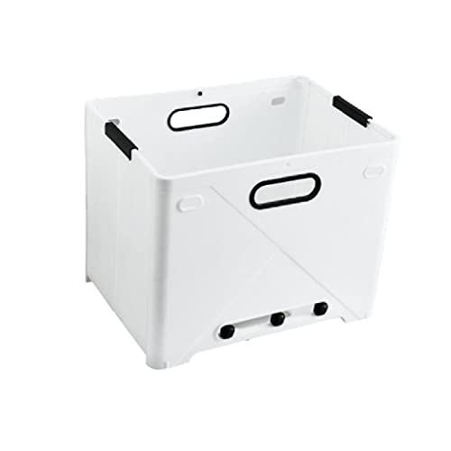 ZAIZAI Cesta de lavandería Plegable, Bolsa de plástico para Ropa Sucia para el hogar, Almacenamiento de Lavado para baño, Dormitorio, Uso Universitario, Impermeable