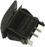 CARLING TECHNOLOGIES V1D2GHNB-AAC00-000 SWITCH, ROCKER, Illuminated, SPST, 20A, BLACK (5 pieces)
