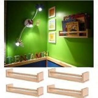 BEKVAM - Estantería de madera para 4 especias, para guardería ...