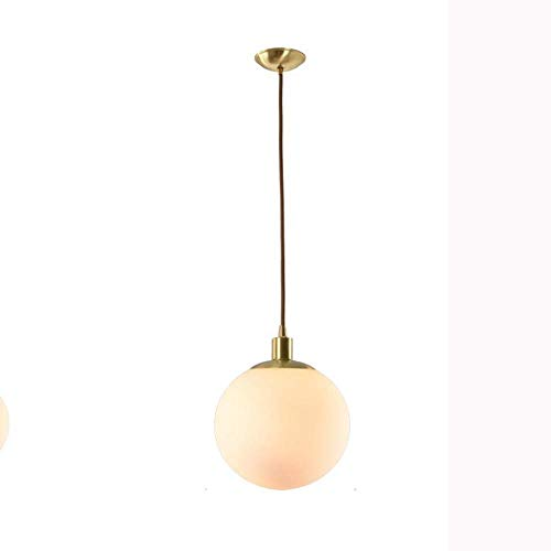 CSD Luces colgantes de oro moderna lámparas creativas nórdico minimalista pulido de techo colgante de latón iluminación Titular de la lámpara E27 con Golden Lampshad for el restaurante