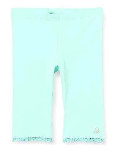 United Colors of Benetton (Z6ERJ Leggings 3MT1I0820, Verde Acqua 27Q, 2Y Bimba