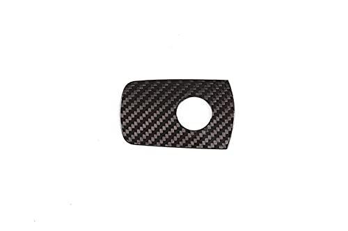 Stubble Ajuste para BMW 3M 2014-2018 Hoja de decoración del Compartimiento de pasajeros del automóvil, Piezas del Interior del automóvil de Fibra de Carbono Real (Color Name : Black Pattern)
