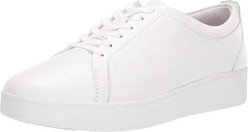 FitFlop Rally Sneakers, Zapatillas sin Cordones Mujer, White (Urban White 194), 41 EU