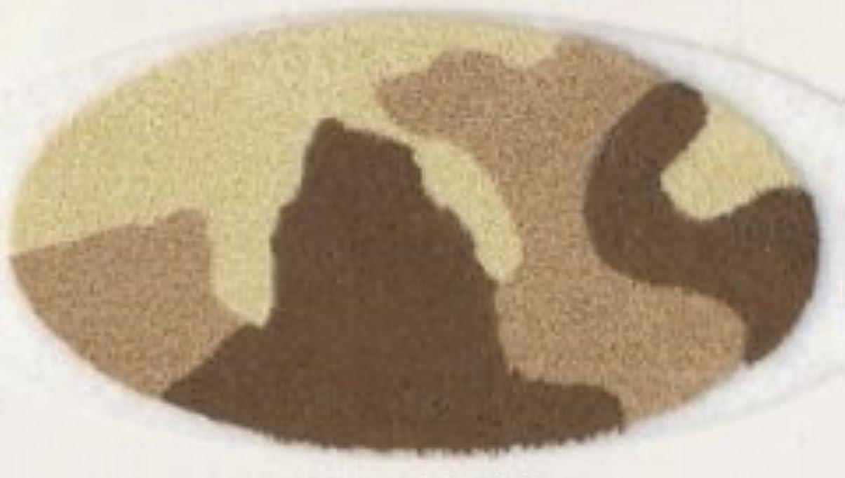 ましい当社憂慮すべき米国シネマシークレット社製 サンドカモフラージュ 貼るインスタントアイシャドウ(カラーオン) Sand Camo CO059