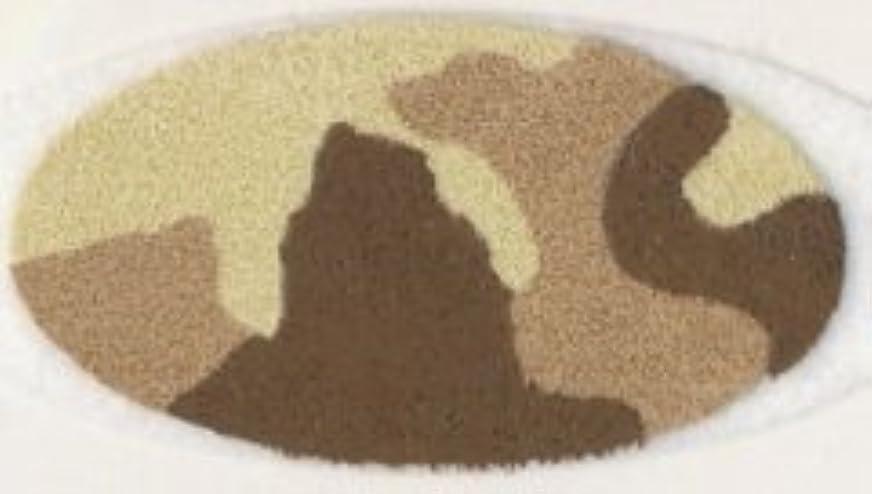 それ見習いストライク米国シネマシークレット社製 サンドカモフラージュ 貼るインスタントアイシャドウ(カラーオン) Sand Camo CO059
