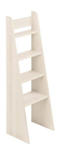 BioKinder 23812 Noah échelle d'escalier lit loft en Bois Massif de pin 120 cm laqué Blanc