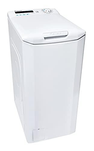 Candy Smart CSTG 282DE/1-S Waschmaschine Toplader / 8 kg/Smarte Bedienung mit NFC-Technologie/Mix Power System/Symbolblende