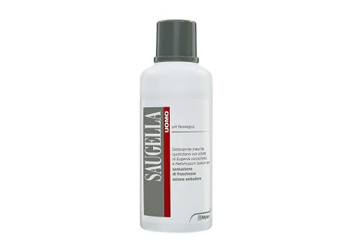 Saugella Saugella Uomo Detergente Intimo Quotidiano Maschile Antiodore A Ph Fisiologico Per Parti Intime 750Ml - 750 ml
