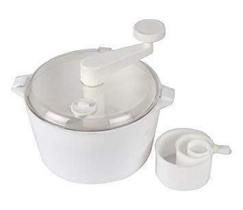 WONIRY Plastic Manual Automatic Atta Roti Dough Maker for Home (Colour May Vary)