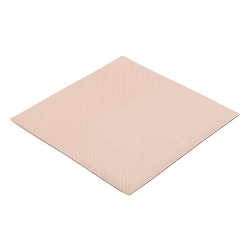Thermal Grizzly - Thermopad Minus Pad 8 - Silikon, Selbstklebendes, Wärmeleitendes Wärmeleitpad. Es leitet Wärme & Kühlt die Heizelemente des Computers oder der Konsole. (100 × 100 × 1,0 mm)