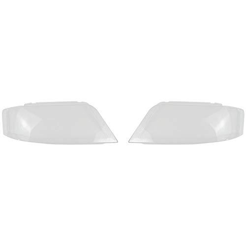 Scheinwerfer Glasabdeckung Objektivabdeckung A6 C5 Objektiv Transparent Lampshade Scheinwerfer Abdeckung transparente Kunststoff-Lampenschutzabdeckung Glasabdeckung gepasst Fit For Audi A6 C5 1999-200