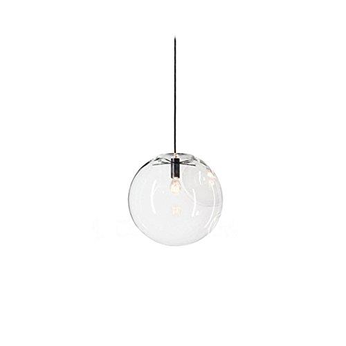 mzstech - Bola förmiges clásico cristal de hängendes brillante creativo einzelnes brillante Principal de lámpara de cristal tono (20cm)