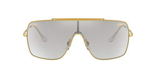 Ray-Ban Gafas de sol cuadradas Rb3697 Wings Ii para hombre