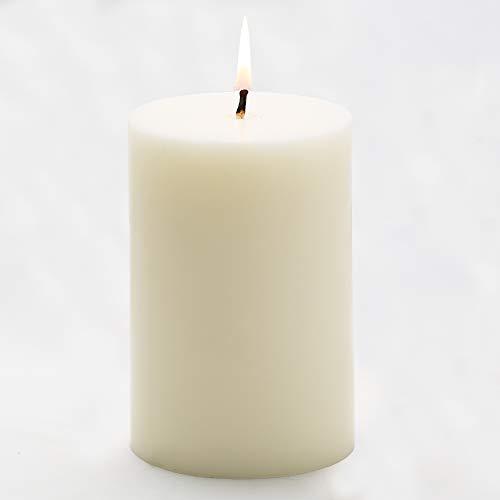 Richland 4' Pillar Candles Light Ivory 4' x 6'