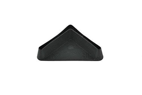 Ángulo de hierro pie Protector plástico End Cap Acero estantería accesorio de pierna muebles, fabricado en Alemania