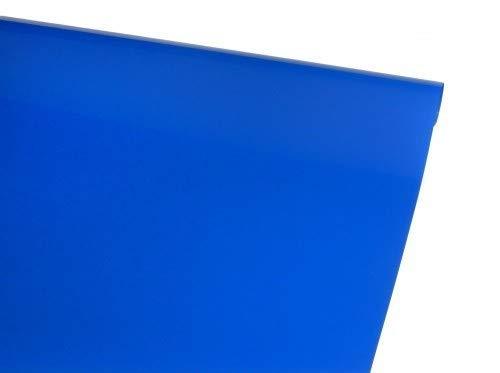 Arkai Bügelfolie Deckend 1 Meter Piratenblau