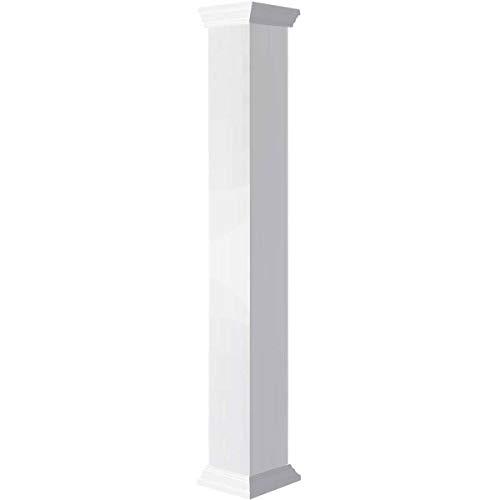Ekena Millwork CC0604ENPCRCR Column, White