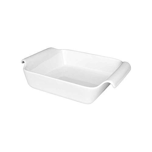 1 Travessa para Lasanha Oxford Cookware Refratárias Branco 25,5X19,5X6,5Cm
