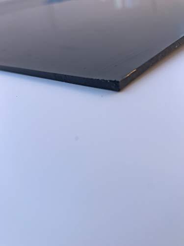 PE-HD Polyethylen Platte schwarz Rammschutz Wandschutz Wurzelschutz 2 m x 1 m (2000 x 1000 x 3)