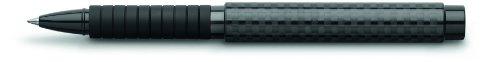 Faber-Castell 148868 - Tintenroller Basic Black Carbon, Strichstärke 0,5 mm