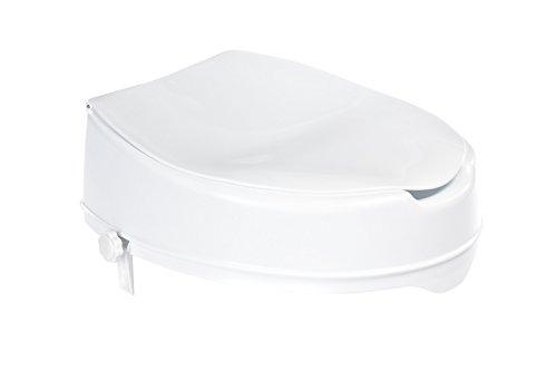 Ridder A0071001 Réhausseur de siège de toilette avec couvercle Hauteur environ 10 cm